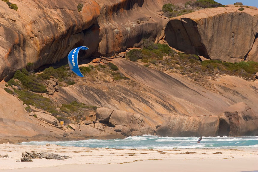 The Kite and Windsurfing Guide, Esperance, South Coast Westaustralia, Australia