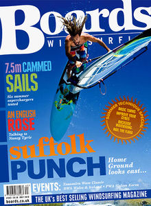 Windsurfing magazine Boards UK featuring The Kite and Windsurfing Guide