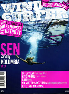 Windsurfing magazine Windsurfer Slovenia featuring The Kite and Windsurfing Guide