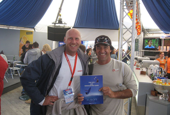 The Kite and Windsurfing Guide, editor Udo Hölker, PWA Chairman Jimmy Diaz