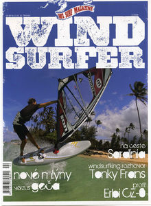 Windsurfing magazine Windsurfer Czech Republic featuring The Kite and Windsurfing Guide