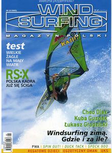 Windsurfing magazine Poland, Windsurfing Magazyn Polski featuring The Kite and Windsurfing Guide