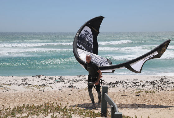 Udo Hölker, editor of the Kite and Windsurfing Guides, South Africa