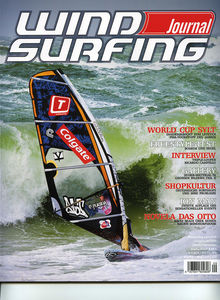 Windsurfing magazine Windsurfing Journal featuring The Kite and Windsurfing Guide