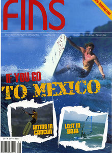Watersport magazine Funsport magazine Fins featuring The Kite and Windsurfing Guide