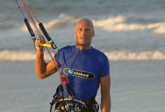 Udo Hölker, editor of the Kite and Windsurfing Guides, Brazil